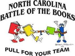 North Carolina Middle School Battle of the Books logo